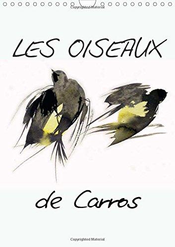 Les oiseaux de Carros 2015: Oiseaux, aquarelles par Frederic Belaubre