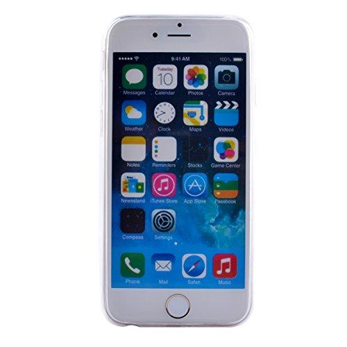 "MOONCASE pour iPhone 6 / 6S (4.7"") Silicone Housse Gel TPU Case Cover Coque Étui Mi05 Mi02 #1122"