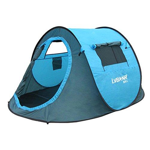 Allight Outdoor Strandzelt Strandmuscheln Zelte 1 Sekunden Pop Up Automatik Schnell Feuchtigkeitsbeständig Sonnenschutz UV-Schutz UV30+ Tragbares Super Leicht Grun, Geeignet, für 2 - 3 Personen Cabana Beach Stuhl