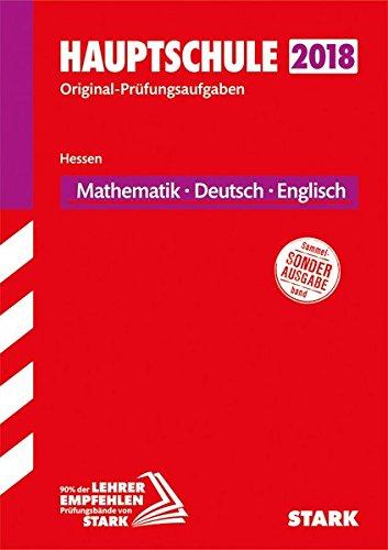 Original-Prüfungen Hauptschule - Mathematik, Deutsch, Englisch - Hessen