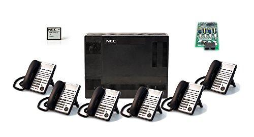 NEC NEC-1100009 6-Handset 4-Line Landline Telephone by NEC - Nec Receiver