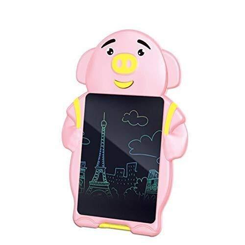CattleBie 8,5-Zoll-Meng Meng Pig Smart-LCD-Tablet, Keine Notwendigkeit for Tinte Anti-Kratz-Test Sperre Energieeinsparung und Umweltschutz, Graffiti Painting Sketchpad (Color : Rosa)