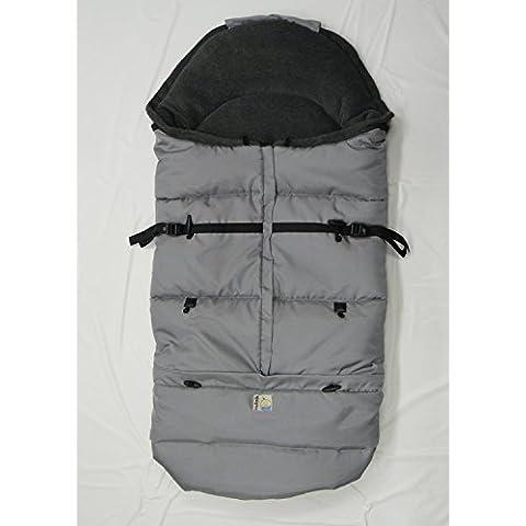Kutnik Saco de abrigo universal polar para silla de paseo - Grey & Gris Graphite