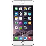 Apple iPhone 6 Plus - Smartphone libre de 5.5'' (16 GB, 8 MP, Reacondicionado Certificado), color plateado