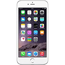 Apple iPhone 6 Plus - Smartphone libre de 5.5'' (16 GB, 8 MP, Reacondicionado Certificado), color plateado