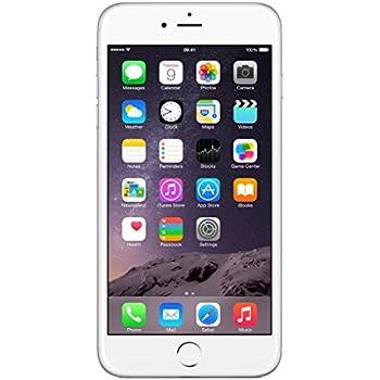 Apple iPhone 6 Plus Argent 16GB Smartphone Débloqué (Reconditionné Certifié)