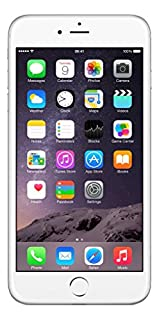 "Apple iPhone 6 Plus, 5,5"" Display, Sim-Free, 128 GB, 2014, Silber (Generalüberholt) (B01M12I75C) 