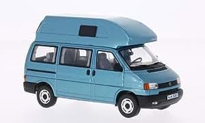 VW T4 California (Hochdach) , metallic-bleu, voiture miniature, Miniature déjà montée, Premium ClassiXXs 1:43