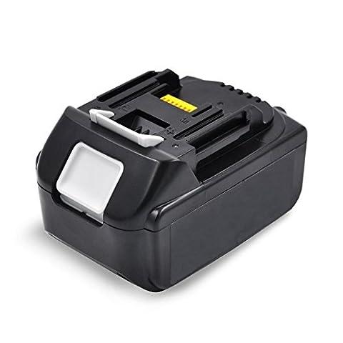 Flylinktech 5.0Ah Li-Ion Replacement Batteries for Makita 18V Battery BL1850 BL1840 BL1830 BL1815 194205-3