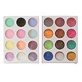 wuweiwei12 Epoxidharz Farbe Metallic Seifenfarbe Set Farbe Pigmente Mica Pulver für Seifen...
