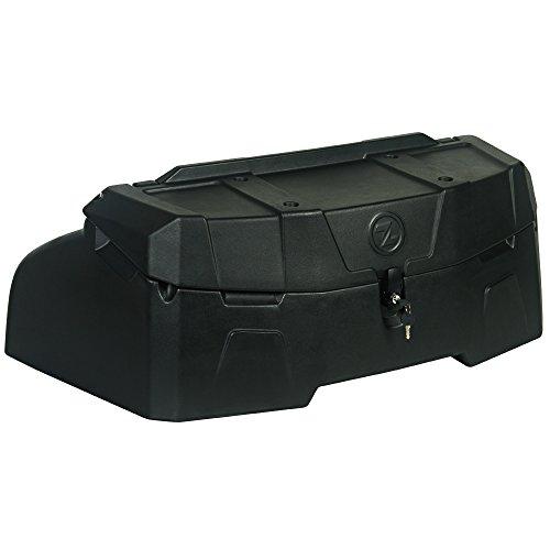 200l universal Quad ATV Heck Koffer wetterfest aus LLDPE Kunststoff (stoßfest) mit verstärktem Boden und großer Ladeöffnung, Platz für 3 Helme, Transport Heckkoffer Topcase inkl. Befestigungsmaterial