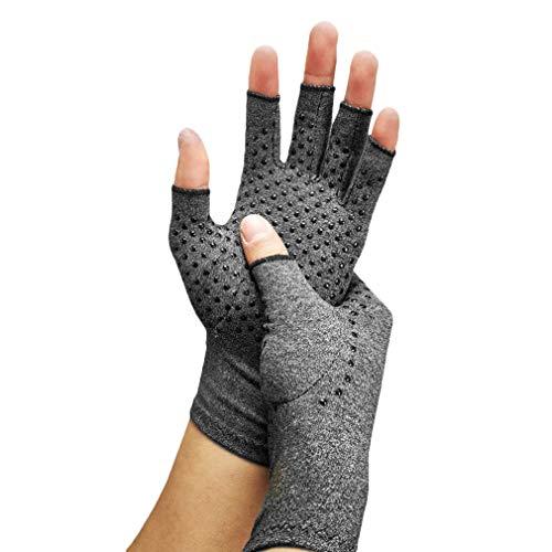 Arthritis Handschuhe Kompression Thermische Fingerlose Schmerzen Symptom Linderung Raynauds-Krankheit Karpaltunnel Handzustände - Thermische Spandex