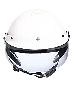 Vintage Edition German World War 2 style Half Helmet (Matte Black, X-Large)