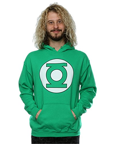dc-comics-homme-green-lantern-logo-sweat-capuche-medium-kelly-vert