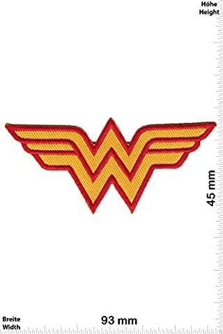 Patches - Wonder Woman - Marvel - Cartoon - Iron on Patch - Applique embroidery Écusson brodé Costume Cadeau- Give