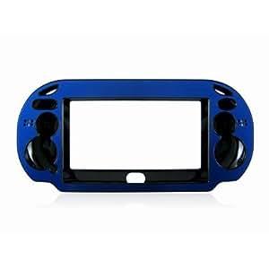 Caso per PSV - SODIAL(R) Coperchio a mano console di gioco di plastica + protettiva dura della cassa del metallo per PSV PS Vita