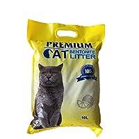 بريميم رمل لفضلات القطط 10 لتر طبيعي وقابل للتحلل, رائحة الليمون
