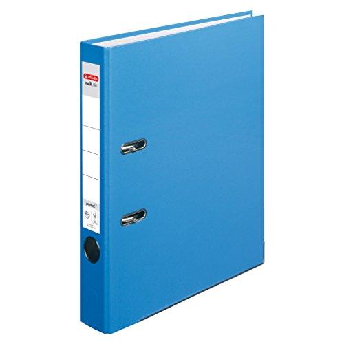 herlitz-11416096-ordner-maxfile-protect-a4-5-cm-mit-einsteckrckenschild-5er-packung-fsc-mix-acqua