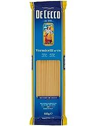 De Cecco Vermicelli, Pasta di Semola di Grano Duro - 500 gr