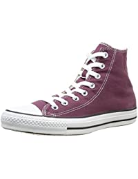 Converse Hi Leather Plus Mid, Baskets pour Homme - Rose - Fuchsia, EU 44 EU