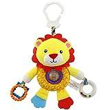 TOYMYTOY Baby Spielzeug Plüsch Löwe für Kinderwagen Kinderbett Auto Sitz