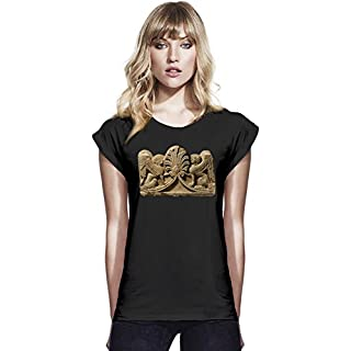 Ancient greek art Womens Continental Rolled Sleeve T-Shirt Large