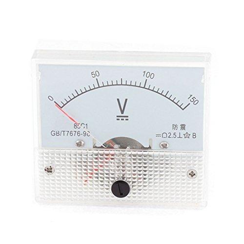 DC 0-150V Rechteck-Panel Analog Voltmeter Spannung Meter-Messgerät 85c1 (Analog 150v)