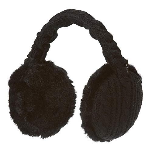Barts Damen Ohrenschützer Schwarz (Schwarz) One Size