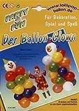 1 Ballon-Clown-Set Latex – Luftballons, versch. Farben