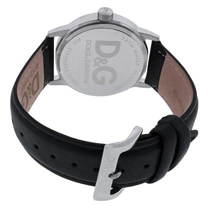 D&G Dolce&Gabbana DW0689 – Reloj analógico de mujer con correa de acero inoxidable negra