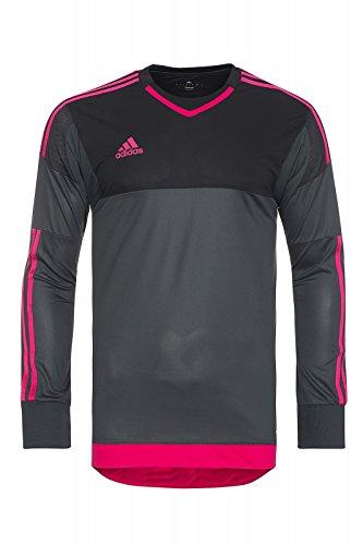 adidas Performance adizero GoalKeeper Jersey PL Shirt Herren Torwarttrikot Sportshirt Schwarz S17934, Größenauswahl:5 (S-M)