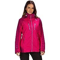 Regatta Women's Calderdale Iii Waterproof and Breathable Hooded Outdoor Active Hiking Jacket