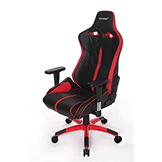 AKRacing NW – AK-NW-BR – Silla Gaming, Color Negro/Rojo