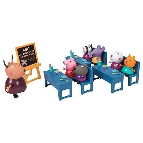 Image of Peppa Pig Classroom Playset Toy by Peppa Pig