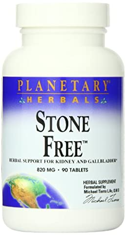 Planetary Herbals Stone Free (820mg, 90 Tablets)