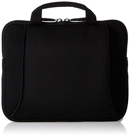 AmazonBasics Netbook- und iPad- Tasche für Größe 17,8 - 25,4 cm (7 - 10 Zoll) mit Tragegriff schwarz