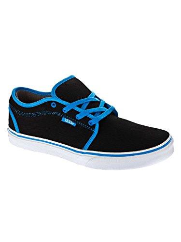Kinder Sneaker Vans Chukka Low Sneakers Boys Black/Sky Blue