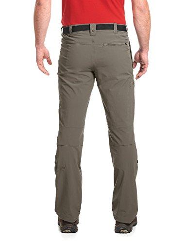 maier sports Wanderhose Roll-Up Nil, Pantaloni Funzionali Uomo Marrone (Teak 780)