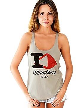 Amnesia Ibiza: I Love AMN Canotta Donna