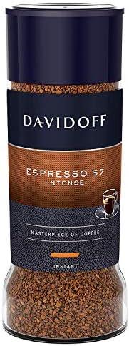 Davidoff Café Espresso 57 Intense Instant Coffee Jar, 100 g