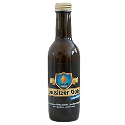 Lausitzer Leinöl - Lausitzer Gold (ungefiltertes Premium Leinöl), 250ml