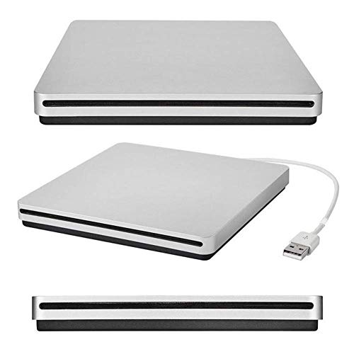 QinLL Externes DVD-Laufwerk USB 3.0 Tragbarer CD-DVD-Player USB 3.0 CD/DVD-RA Superdrive CD +/- RW Brenner Rewriter/Reader für PC Computer Desktop Laptop MacBook,BC Dvd-rw-notebook-barebone-computer