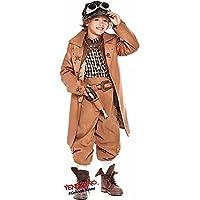 Hecho en Italia Lujo Infantil Victoriano Steampunk Disfraz de Halloween  Plus Accessorios 3-10 AÑOS 878e30b0b5a