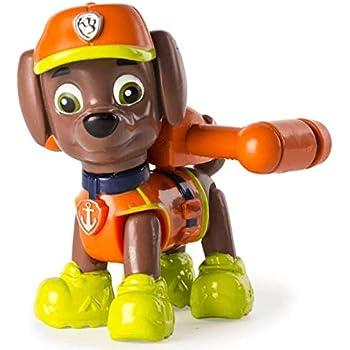 Paw Patrol Jungle Rescue Zuma Figurine Articulée De La Pat Patrouille Dans La Jungle