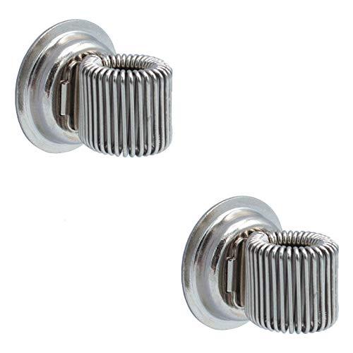 WANDLER® by Infinity Boxes Magnet-Set 2-tlg, magnetischer Stifthalter, silber, 2 Stück, rund, Ø 2 cm - Wandler Zubehör