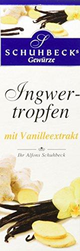 Schuhbecks Ingwertropfen mit Vanille, 1er Pack (1 x 50 g)