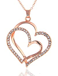 Sukkhi Cubic Zirconia Chain for Women (Pink)(P80716)