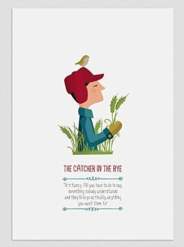 il-giovane-holden-the-catcher-in-the-rye-stampe-a4-a3
