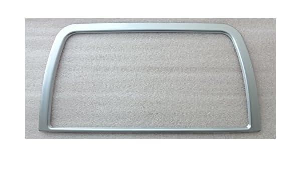 Innenraum Zubeh/ör//Tuning Moulding // Matt Chrom Blende Kappe f/ür Display Navi Radio Mittelkonsole 1 St Mazda B-WARE CX-5 bis BJ 2015