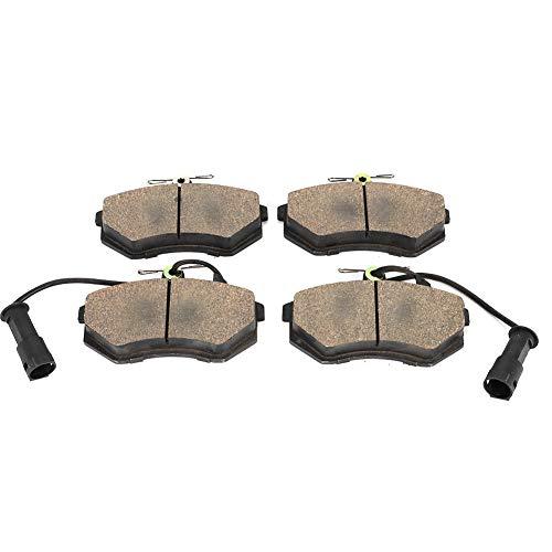 Kit di pastiglie freno in ceramica Premium anteriore sinistro e destro 4 pezzi Kit per Audio 100 / Binyu